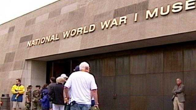 World War I Museum entrance, Liberty Memorial door - 16401664