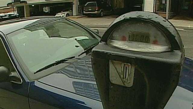 parking meter generic - 14204910