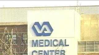 VA Hospital (sign)