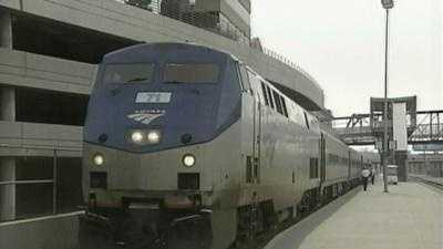 Amtrak train at Union Station - 11443564