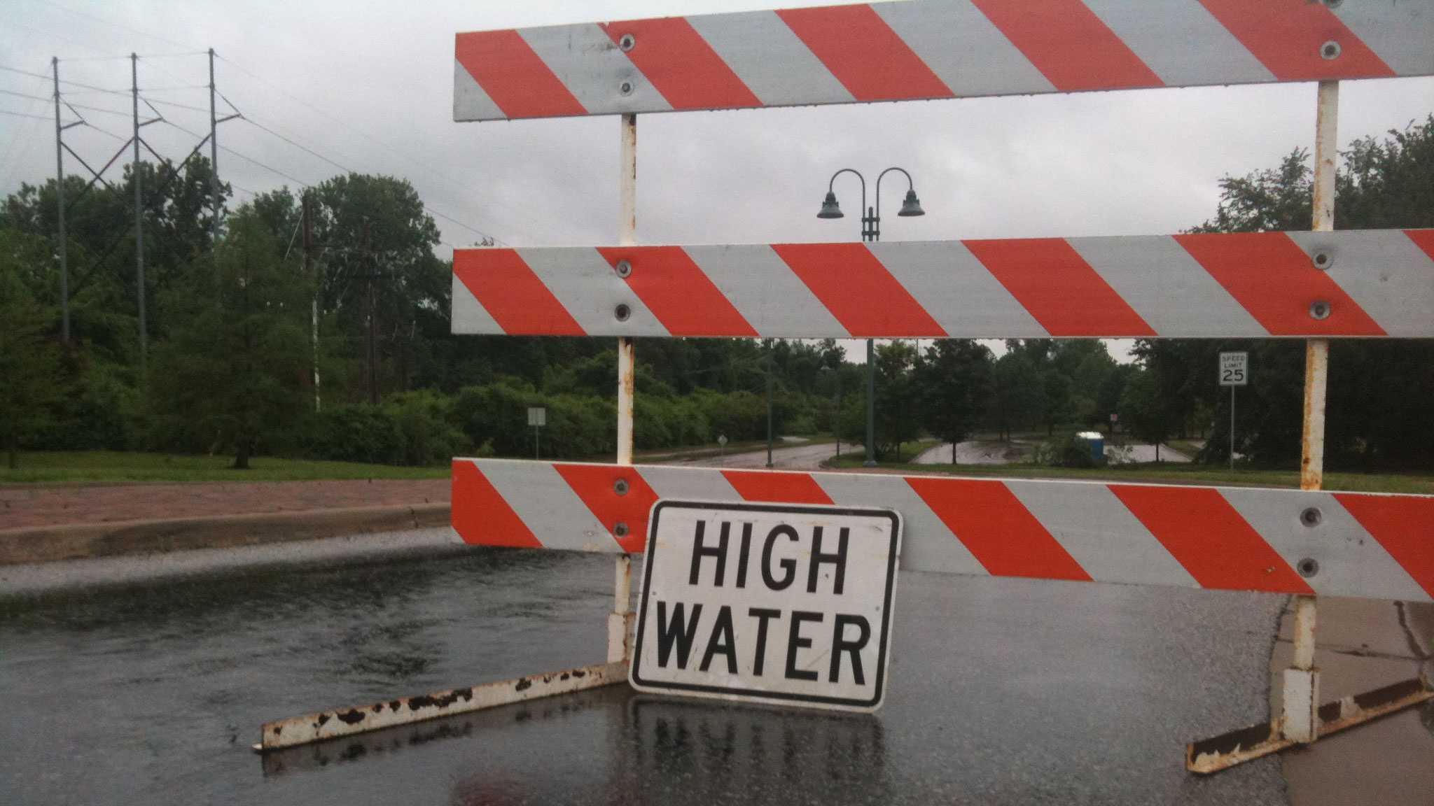 high water barricade