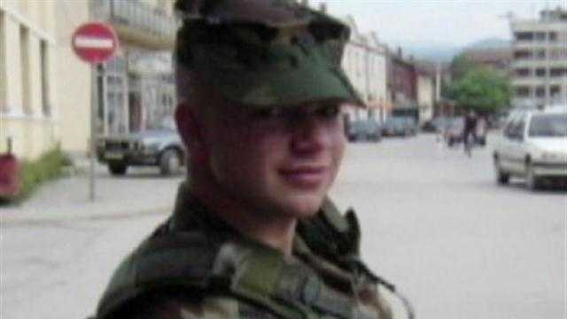 KMBC's Martin Augustine reports that Army Sgt. Mike Knapp died Friday in Afghanistan.