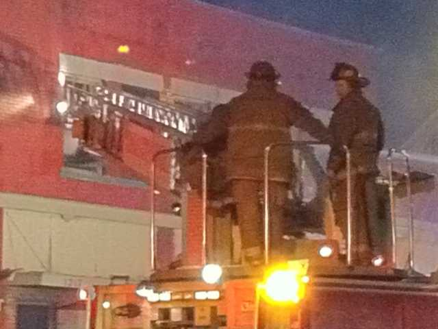 Firefighters took a defensive mode and fought the fire from outside.