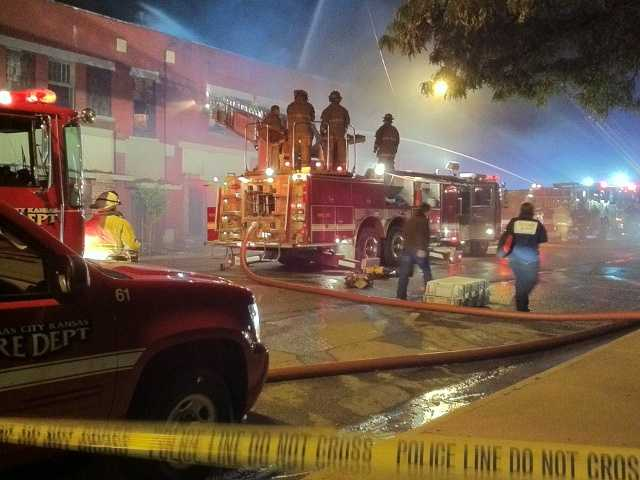 The fire happened around 11:15 p.m. Tuesday.