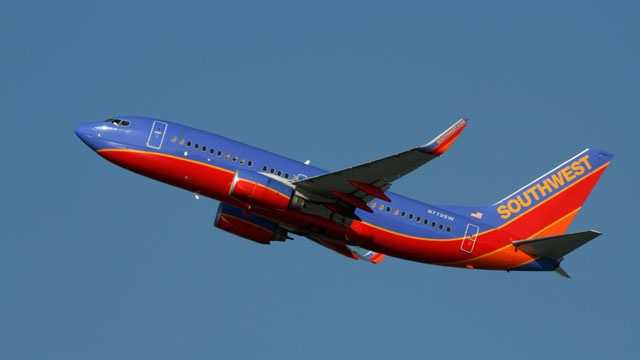 Southwest Airlines jet