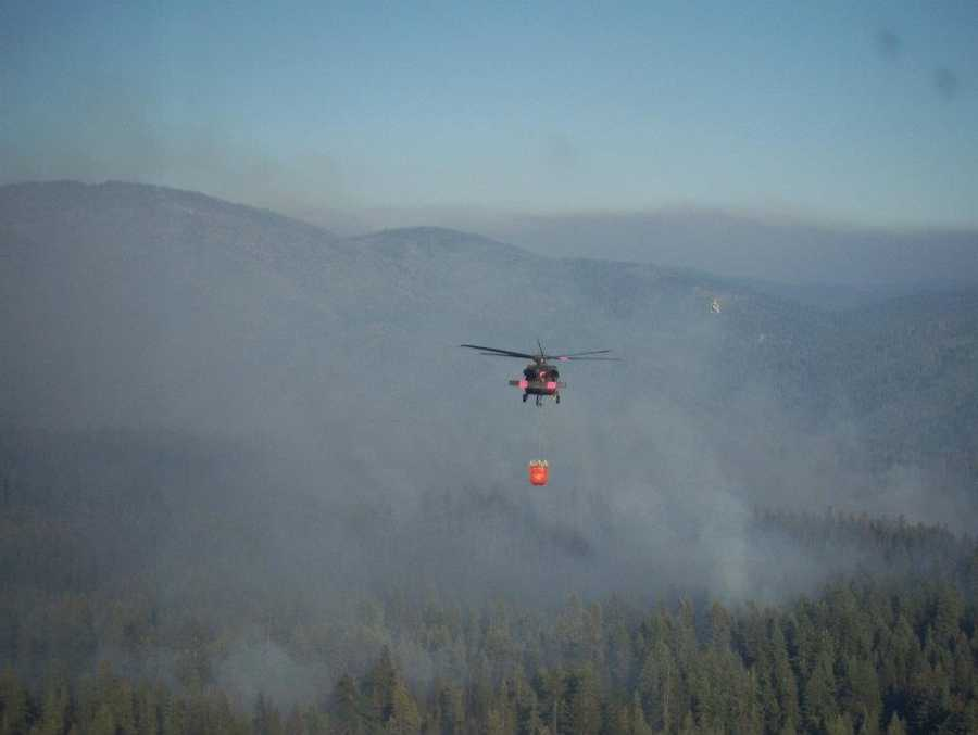 The Kansas National Guard is helping authorities in Colorado battle wildfires that have forced the evacuation of hundreds of people.