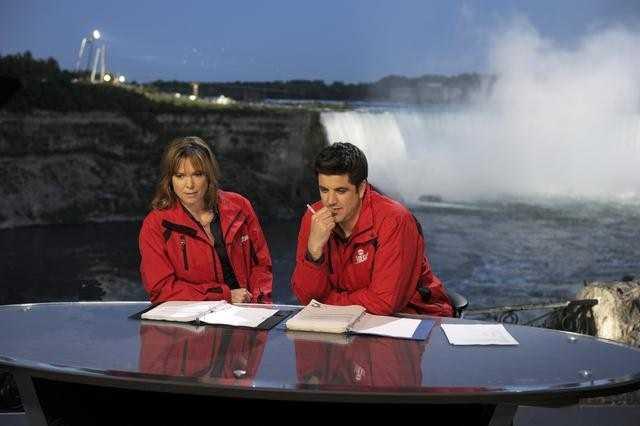 ABC's Hannah Storm and Josh Elliott.