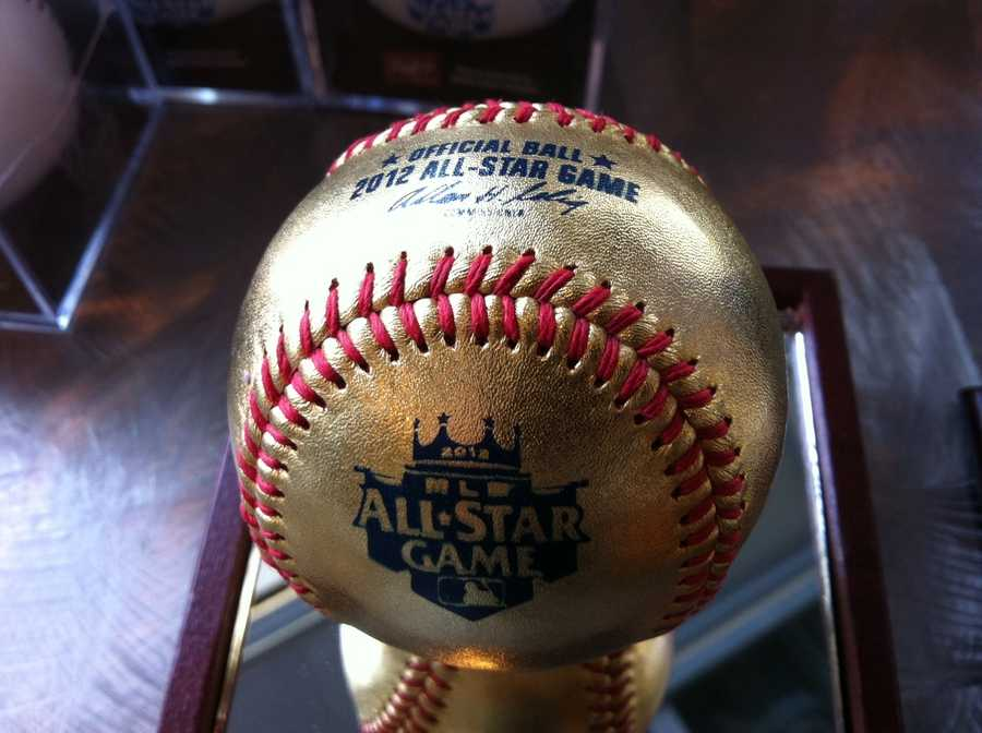 All-Star Game golden baseball