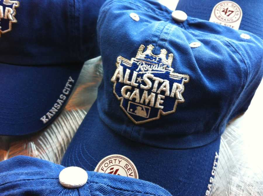 An All-Star Game hat.