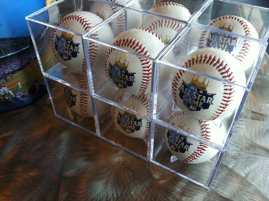 All-Star Game baseballs.