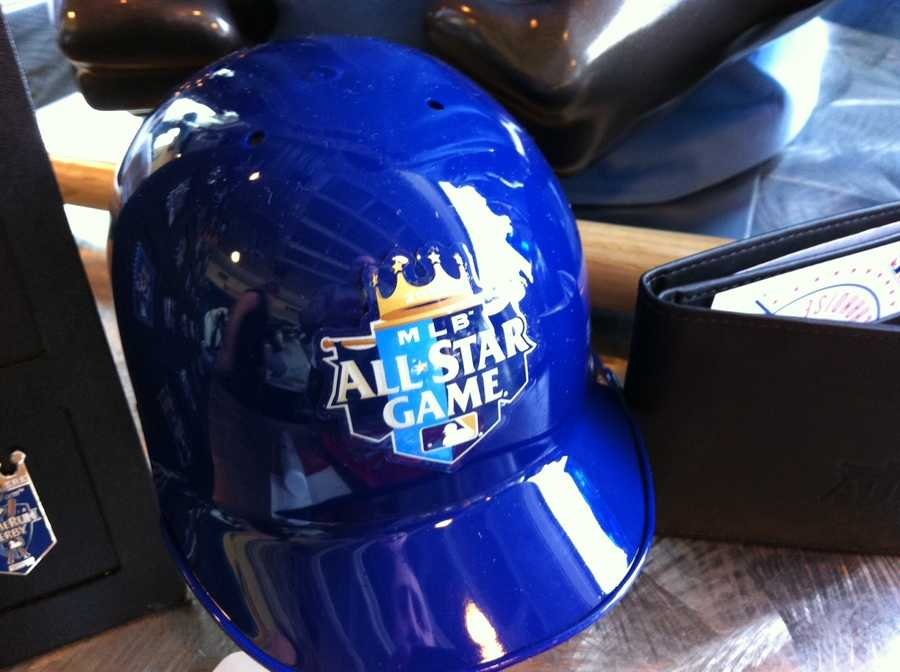 An All-Star Game helmet
