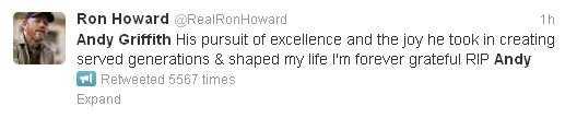 Actor/Director Ron Howard