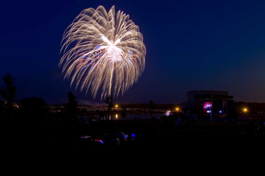 Kearney 4th of July fireworks (image by philtunes)