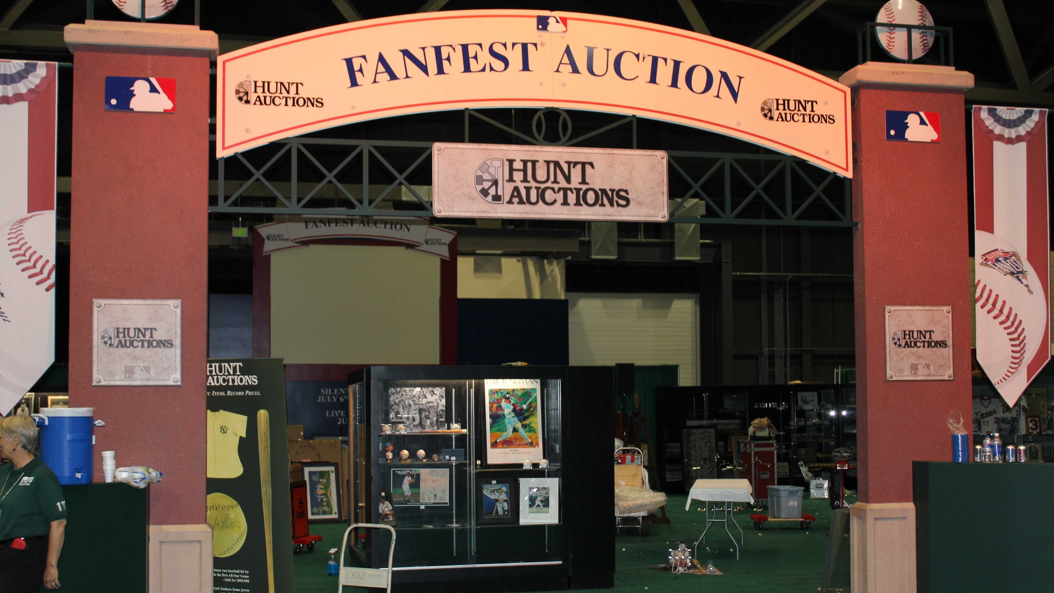 You can bid on limited-edition authentic baseball memorabilia in a silent auction throughout the event or at the live auction on July 10.