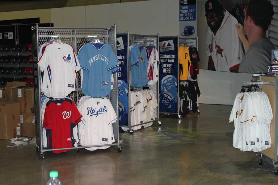 More items for sale at the MLB Clubhouse Store.