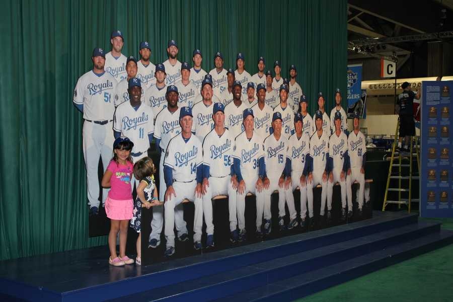 Take a picture with the Royals in the Hometown Heroes exhibit.