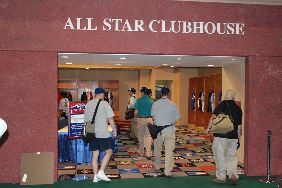 The All-Star Clubhouse.