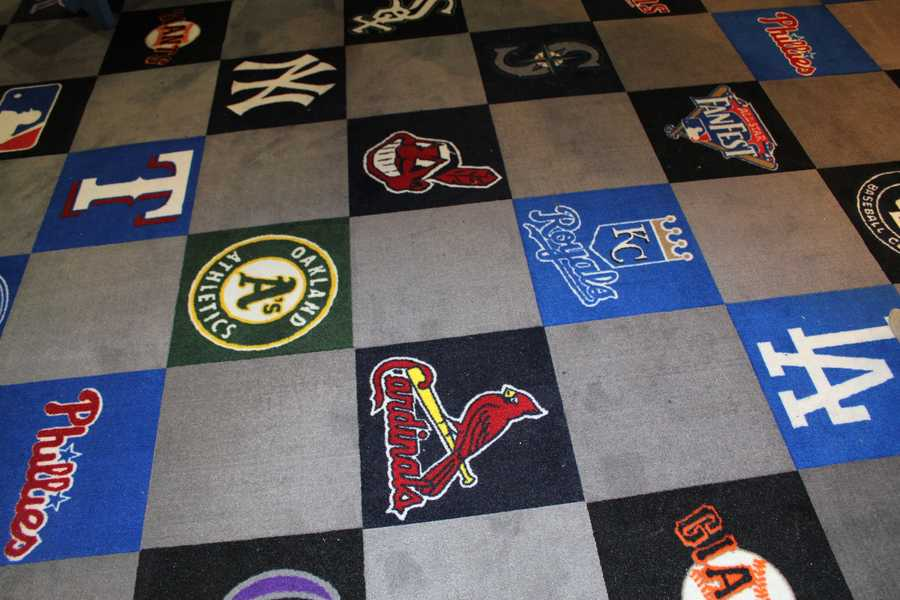 The floor of the All-Star Clubhouse.
