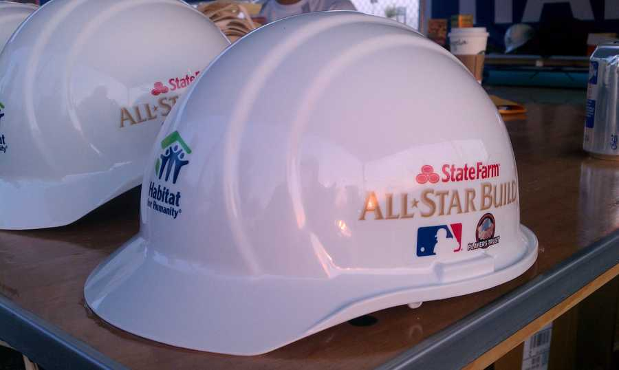 The All-Star Build sites at Kauffman Stadium will be visited by 2012 MLB All-Stars, participants in the Taco Bell All-Star Legends & Celebrity Softball Game, Royals legends and more.