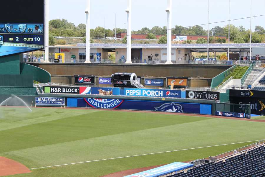 A massive Pepsi can is now situated in right field.