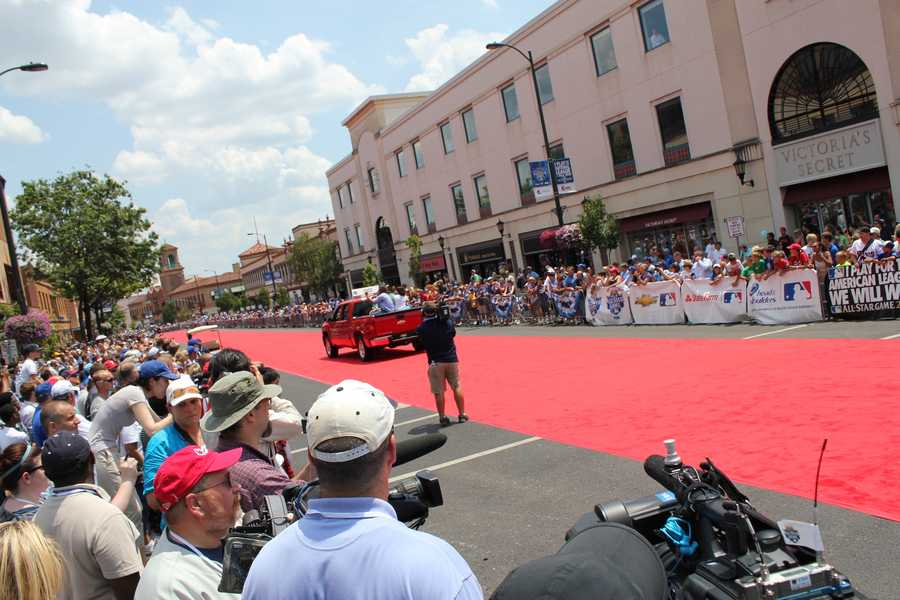 The All-Star Red Carpet Show on the Country Club Plaza.