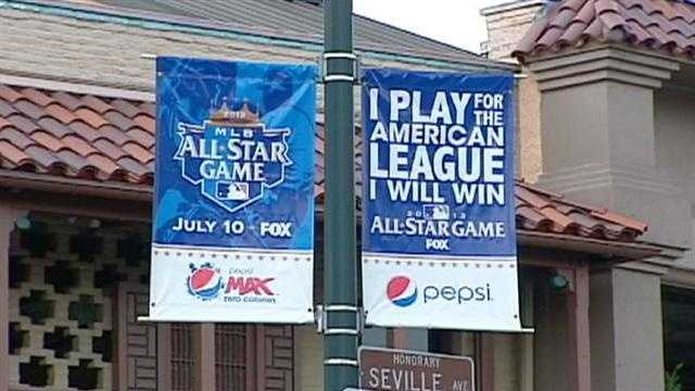 People visiting Kansas City for the All-Star Game told KMBC 9's David Hall what they liked about the city and suggestions they'd make.
