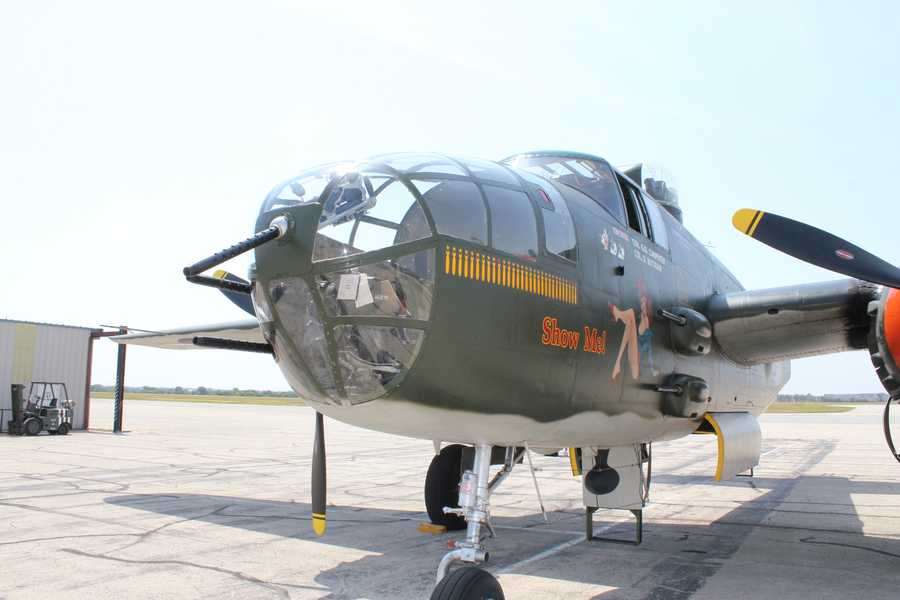 The bomber was sold in 1959 to a private owner.
