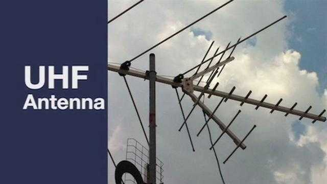 If you live more than 10 to 15 miles away from our transmitting antenna, you may need an old fashioned UHF antenna. Just make sure the antenna is pointing toward our transmitting antenna.