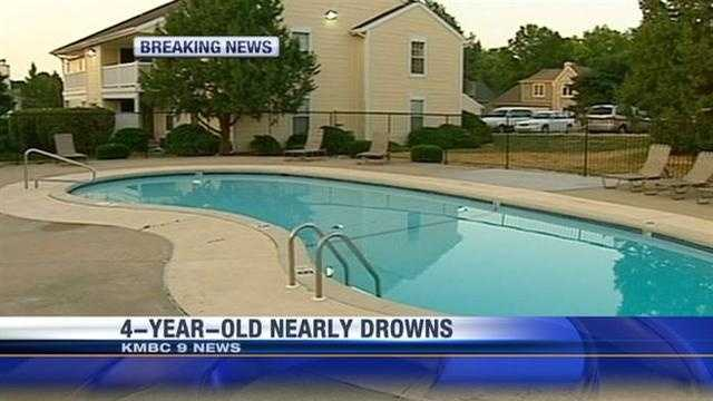 A 4-year-old child is expected to make a full recovery after a near-drowning at an apartment complex pool in Overland Park. KMBC 9's Haley Harrison reports.