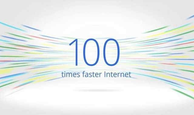 Google announced its Google Fiber service is ready in parts of Kansas City, Mo., and Kansas City, Kan.  Google claims its fiber service is 100 times faster than other internet providers.