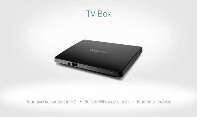 This is what the Google Fiber Television box will look like.  It has built in wifi and is bluetooth enabled.