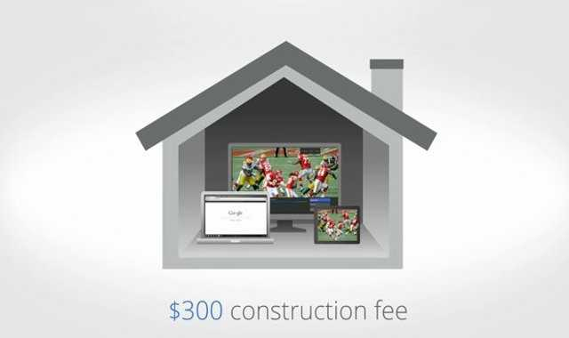 You will have to pay a one-time fee of $300 to initially install Google Fiber.  This fee is waived if you sign a 1-year contract for internet service, or 2-year contract for internet and TV service.