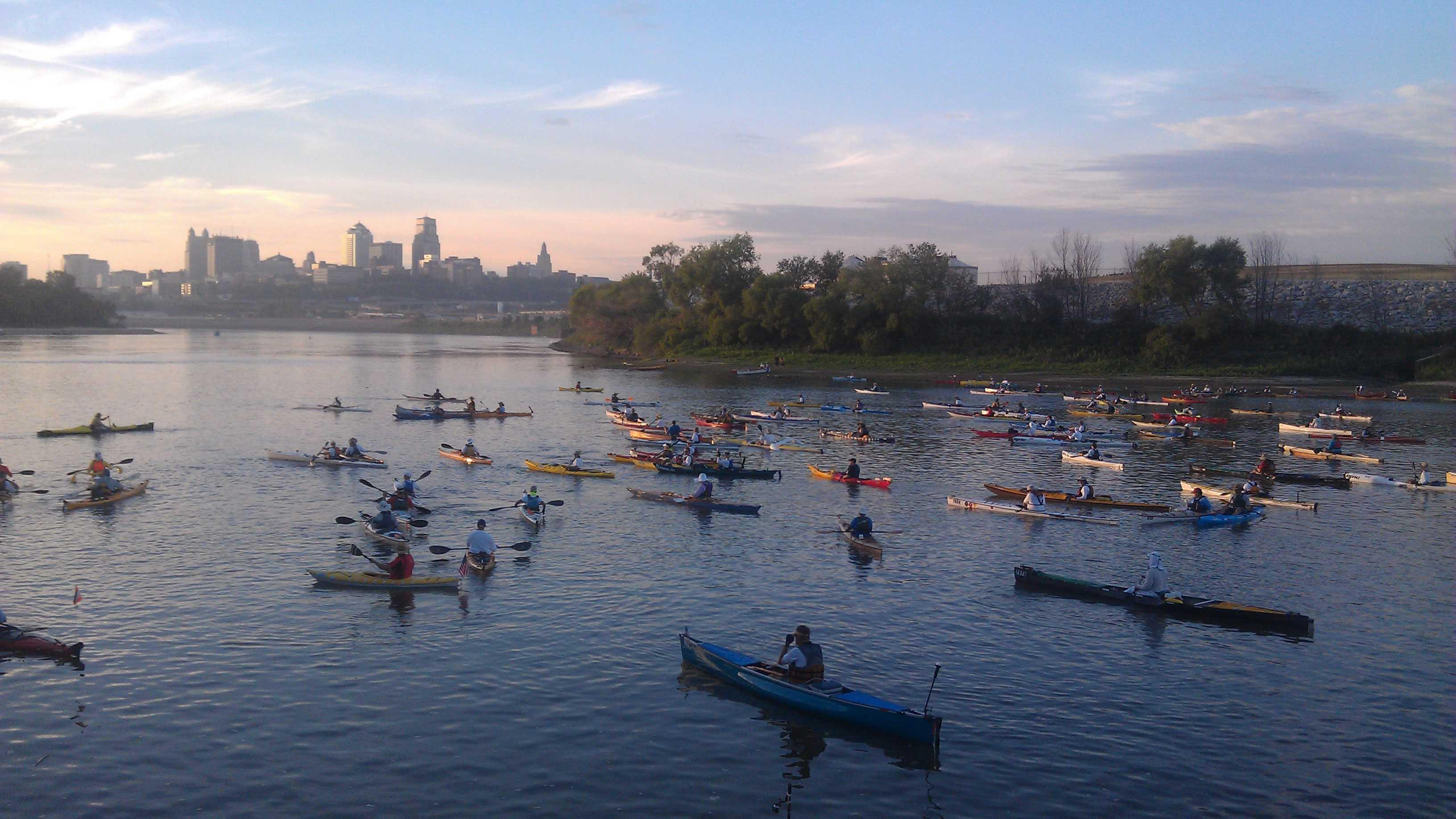 Missouri River race