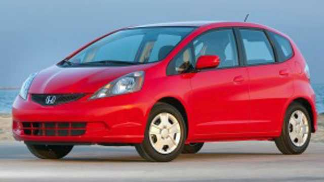 Shawnee police say they are looking for red Honda Fit hatchback, similar to this one, in connection with a hit-and-run crash in the 20200 block of Johnson Drive on July 26.