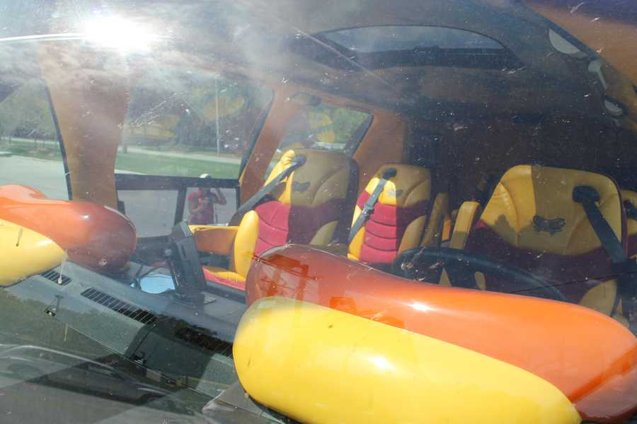 This Wienermobile includes GPS