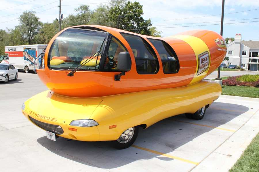 The original Wienermobile was created in 1936.