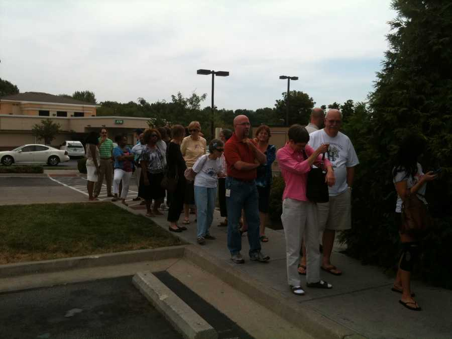 "Thousands of customers created long lines at Kansas City metro Chick-fil-A restaurants on Wednesday. The customers were celebrating Chick-fil-A Appreciation Day, an event to counter a boycott launched by gay marriage activists last week after the company's CEO, Dan Cathy, said he was ""guilty as charged"" for not supporting gay marriage."