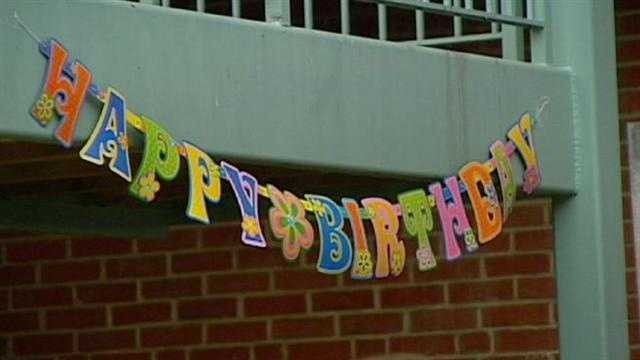 People at a Kansas City apartment complex threw a birthday party to honor an 11-year-old neighbor who most of them didn't even know existed until recently. KMBC 9's Cliff Judy reports.