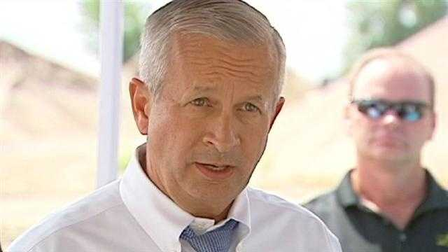 St. Louis businessman and Republican U.S. Senate candidate John Brunner says new political leaders are needed to turn the economy around, but he said he's not sure that the automatic budget cuts set for this fall are the answer.