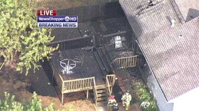 A 2-alarm house fire in the rear of an Olathe home keeps firefighters busy. Johnny Rowlands reports from Newschopper 9 HD.