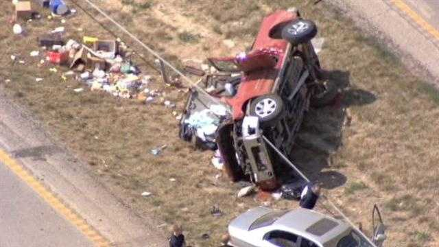 One person was killed in a wreck on I-29 near Dearborn, Mo., on Wednesday morning.