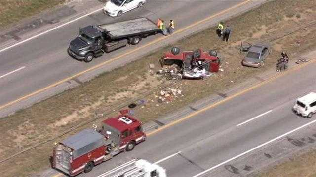 I-29 was shut down for a few hours while police investigated the wreck.