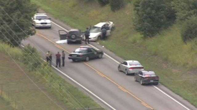 The Missouri Highway Patrol said a carjacking in Platte City led to a high-speed chase and crash that killed another driver.