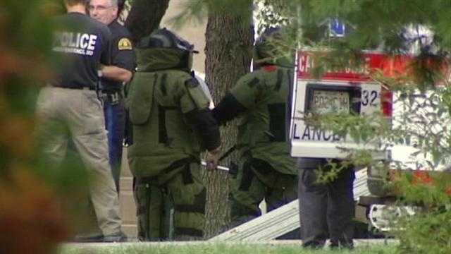 A homeowner's discovery led police to bring a bomb unit to a house in Independence. KMBC 9's Martin Augustine reports.