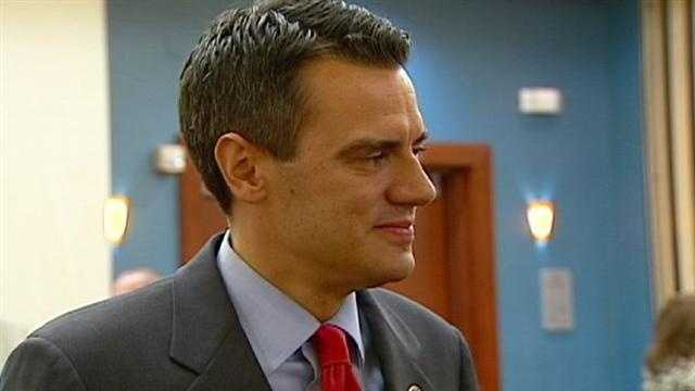 Kansas Rep. Kevin Yoder meets with voters Tuesday, just two days after news broke that he went skinny dipping in the Sea of Galilee during a 2011 trip to Israel. KMBC 9's Stephanie Ramos reports.