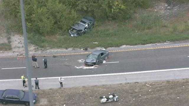 Police are trying to determine why someone drove northbound in the southbound lanes of Interstate 635, causing a head-on collision that killed the driver heading in the correct direction.