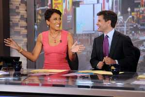 """5 years ago, Robin Roberts successfully overcame breast cancer. """"I've always been a fighter, and with all of your prayers and support, a winner."""""""