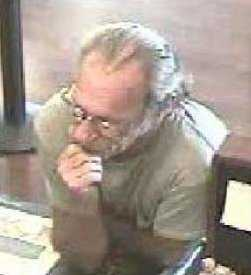 """FBI:Law enforcement officials are seeking the public's assistance in identifying a serial bank robber who has allegedly robbed at least nine banks in the western and southern United States since June of 2012. The FBI calls him the """"Bucket List Bandit."""""""