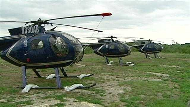 KC police show off new helicopters