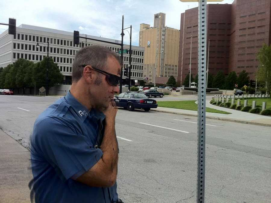 The state office building was evacuated as a precaution. Some workers in the federal building were given the option of leaving early for the day, Mahoney reported.